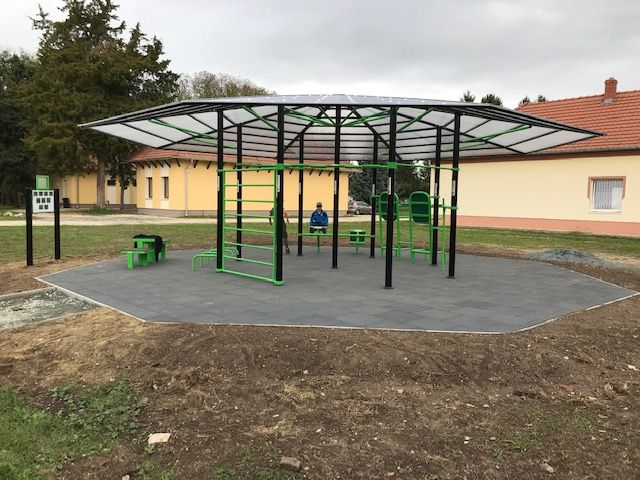 Elkészült a település kültéri sportparkja